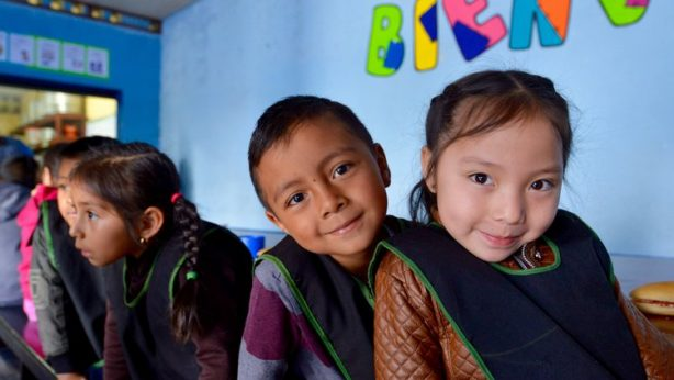 Guatemalan children at local education npo