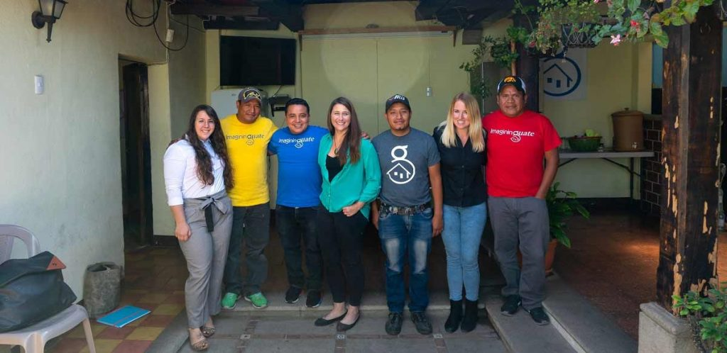 Pionero Philanthropy team on site visit