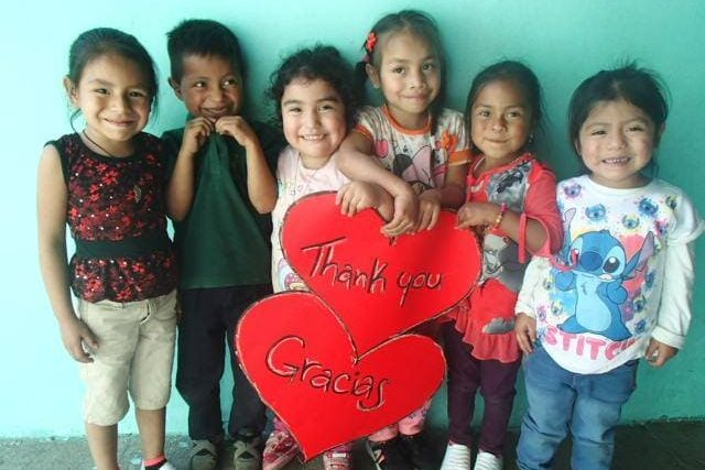 children at Guatemalan NGO Integral Heart Family