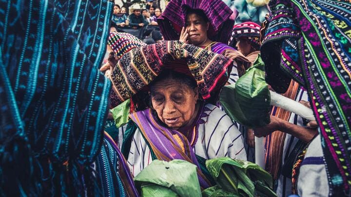 Mayan women of Guatemala