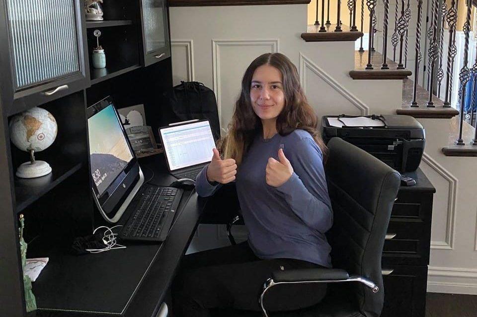 Pionero Philanthropy remote volunteer Adelina
