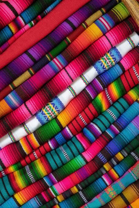typical Guatemalan textiles